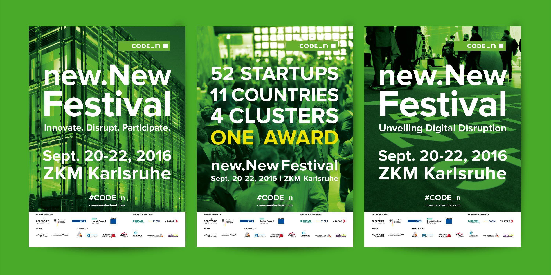 Code_n new.New Festival Flyer