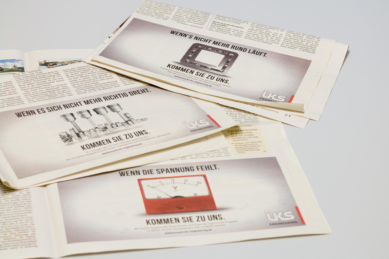 iks Engineering Anzeigen in den VDI Nachrichten